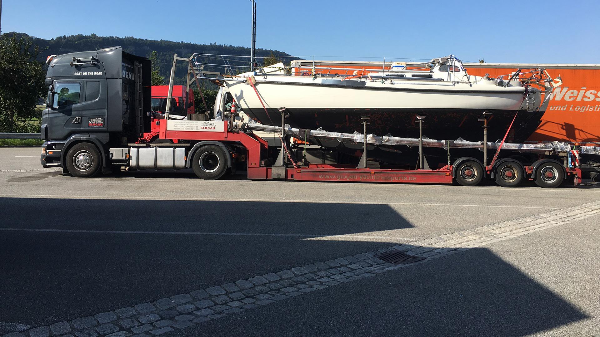 Transport von Neustadt nach Liechtenstein
